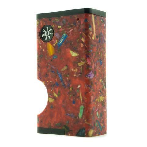 Asmodus Luna Squonker 80W Box Mod (No Nicotine) (Red Mosaic)