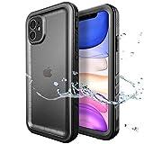 SPORTLINK Custodia Impermeabile per iPhone 11, IP68 Certificato Waterproof Cover Slim Subacquea Caso Full Protezione Case Protettiva per Apple iPhone 11 (2019) 6,1 Pollici