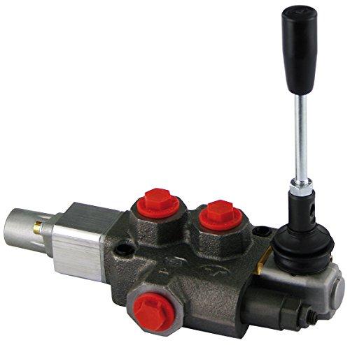 FK Söhnchen Hydraulik-Steuergerät für Holzspalter mit Rückholautomatik und Eilgang 45 Liter, für Landwirtschaft Baumaschinen und Industrie