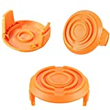Handlive 50006531 Spool Cap Covers for Worx WA6531 GT Trimmer Part Replacements (3 Pack)