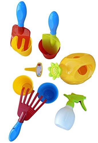 Seruna A184 10 pcs. De Jeu Toy de Soins de Jardin pour Les Petits jardiniers, Peuvent Donc être Jardinage Fun