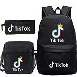TIKTOK - Mochila y bolsas de viaje para niños y niñas Noird 11*6*16(in)