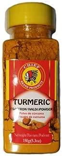 TURMERIC/SAFFRON/HALDI POWDER 5.3 OZ