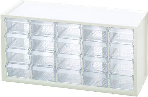 livinbox A9-520 Schubladen-Organizer für Hardware und Handwerk, für Teile, weiß