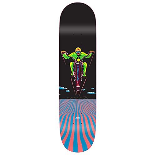 Quasi Skateboards Crockett Skateboard-Brett / Deck, 21 cm, Dream Cycle