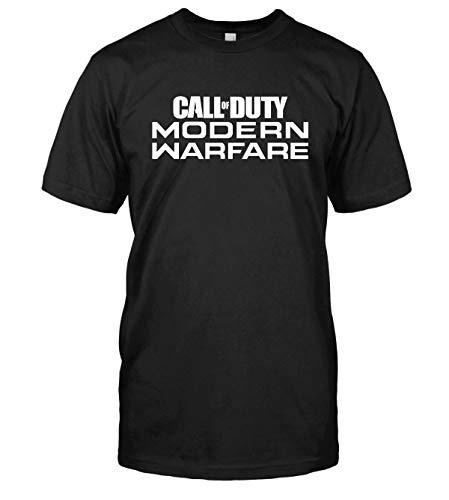 Call of Duty Modern Warfare T-Shirt Top Tee (X-Large, Black)