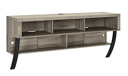 Ameriwood Home Wall Mounted TV Stand, 60', Sonoma Oak
