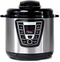 Power Pressure Cooker Extra Large 10 Quarts - As Seen On TV Multi Cooker 9-in-1 Programmable Pressure Cooker. Pressure cook, slow cook, sauté, rice cooker, yogurt, steam (Model WAL4)