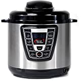 Power Pressure Cooker Extra Large 10 Quarts - As Seen On TV Multi Cooker 9-in-1 Programmable Pressure Cooker. Pressure cook, slow cook, saut, rice cooker, yogurt, steam (Model WAL4)