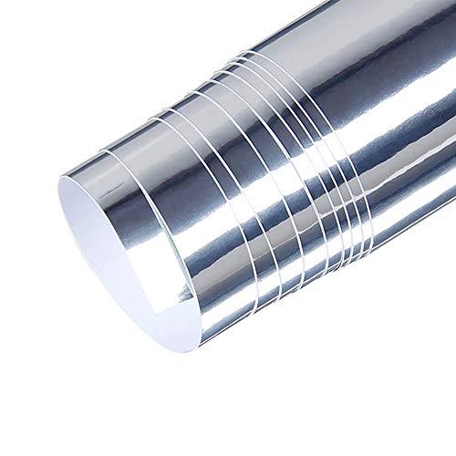 KKmoon Vinilo Fibra de Carbono Adhesiva para Coche Decoración Auto Vehículo 152 x 20cm