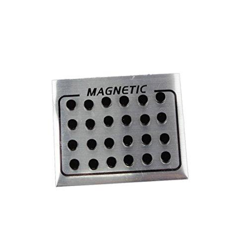 yotijar 12 Pares de Pendientes Unisex Negros Magnéticos No Perforantes en Pendientes Falsos