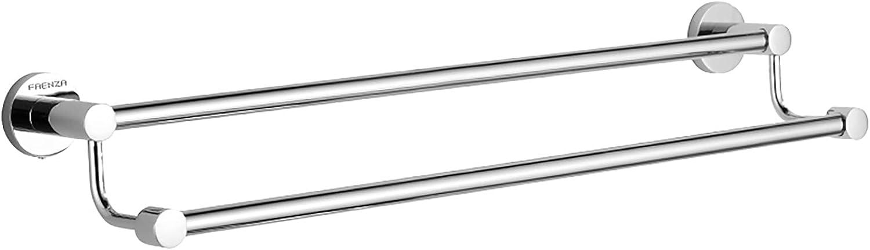 RFFDM Ranking TOP6 Double Towel Bar Rails Detroit Mall i Rack Holder Steel Stainless