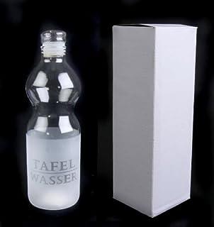 Unbekannt –Cantimplora de Cristal 22cm Botella de Agua