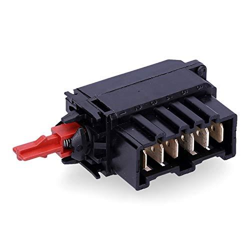 Wessper Interruptor de encendido/apagado para Electrolux EWT967 Secadoras de Tambor, Lavadoras