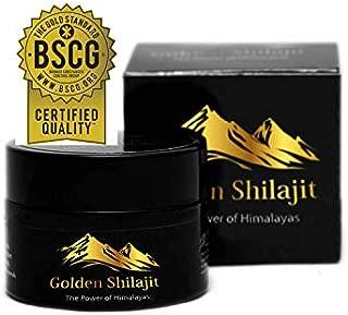 Golden Shilajit Fresh Resin - 40 Grams - World's Finest Shilajeet Guaranteed from It's Origin Directly -
