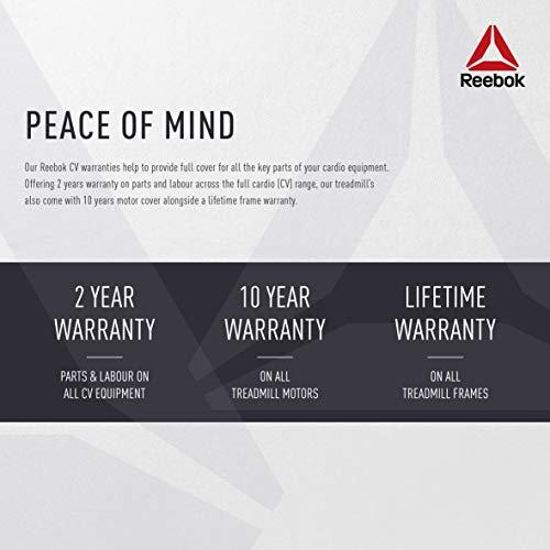Reebok Jet 100 Series Bluetooth Treadmill - White
