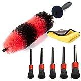 Vukayo Car Wheel Cleaning Brush Kit for tire and Rim,car...