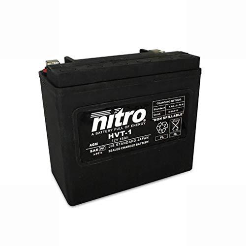 Batería 12 V 18 Ah HVT 01 Gel Nitro FXDX Dyna Super Glide Sport 99-03