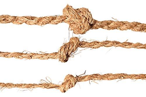 Kokosseil 7 mm – Baumanbinder aus Kokosfaser – ungefärbte Naturfaser – 50 m - 2