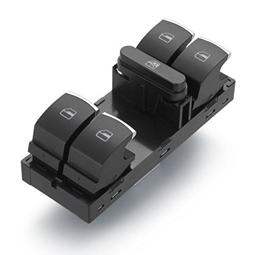 Elektrischer Fensterheber Schalter für Golf V Golf VI Golf Plus Tiguan 5N Fenster Fensterschalter 10 pin 5ND959857 RICH CAR