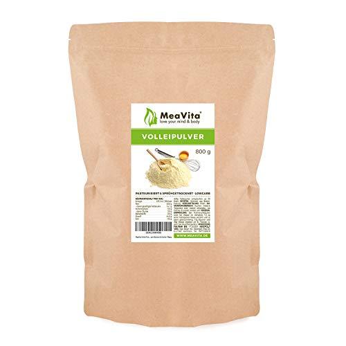 MeaVita Vollei Pulver, 800g Volleipulver im Beutel, reich an Protein, ideal zum Backen & Kochen
