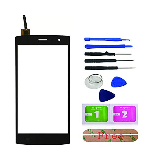Smartphone Touch Screen Digitizer Panel Glass Front for HOMTOM HT7 / HT7 Pro Lens Sensor Replacement Tools Adhesive