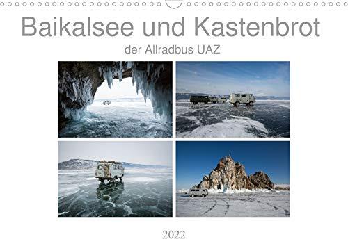 Baikalsee und Kastenbrot (Wandkalender 2022 DIN A3 quer)