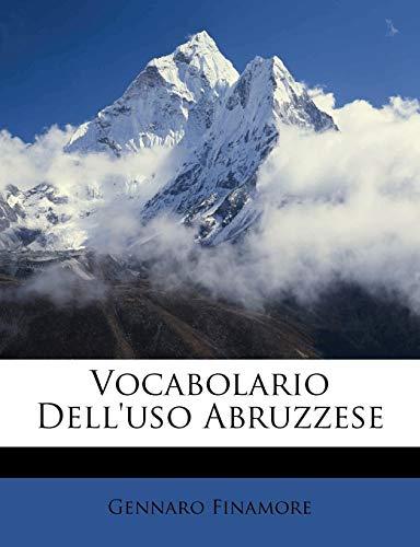 Vocabolario Dell'uso Abruzzese