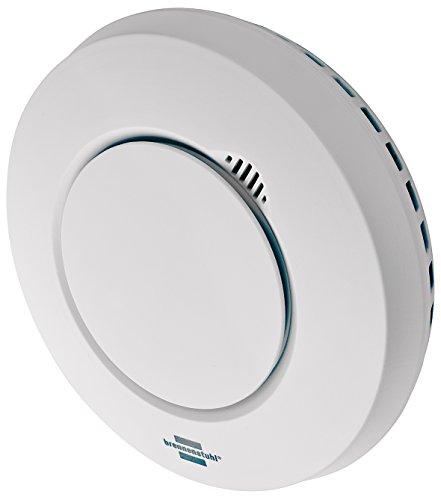 Brennenstuhl BrematicPRO Smart Home Rauchmelder / Hitzewarnmelder (App-Funktion zur Benachrichtigung)
