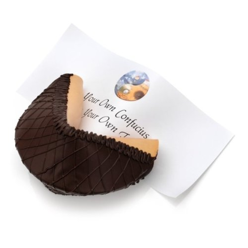 Baby Giant Dark Chocolate Lover's Gourmet Fortune Cookie