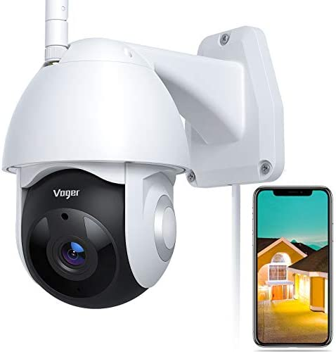 Security Camera Outdoor Voger 360 View WiFi Home Security Camera System 1080P with IP66 Weatherproof product image