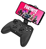 Rotor Riot Mobile Gamepad Controller for Android - Latency Free Wired Controller with L3 + R3, Improved 8 Way D-Pad, Highly Compatible Gaming Device Holder