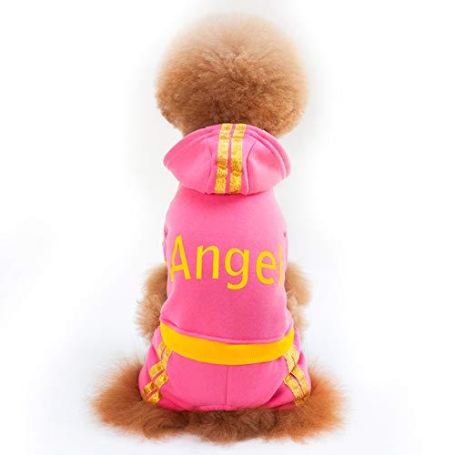 PETVE Herfst En Winter Nieuwe Hond Kleding, Leuke Engel Hond Trui, Plus Fluwelen Huisdier Trui Hond Kleding