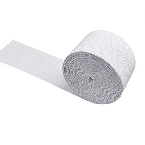 Leline's Elastic Spool, Knit Elastic Band for Sewing, 2 Inch x 5 Yard, White