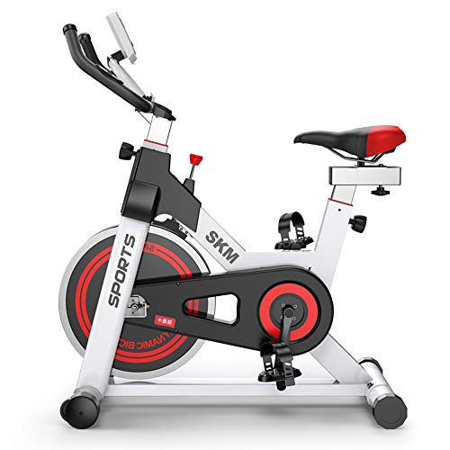 Brmind-Spinning bike Aerobic Indoor-Trainings-Heimtrainer, 3-teilige Kurbel, 5-Funktions-Monitor, Not-Aus-System, ergonomischer Lenker mit Herzfrequenzsensor