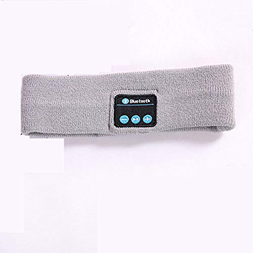 Ytrew Sleep Auriculares Bluetooth Música Diadema Lc-Dolida Inalámbrico Deportivo Transpirable Auriculares para Dormir con Bluetooth 5.0, Perfecto para Correr, Caminar y Yoga (Negro)