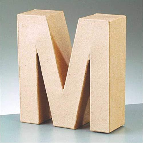 Letra de cartón - M