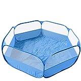 Samfox Spielhaus, Faltbares Netz Spielhaus Ocean Ball Spiel Pool Zelt Indoor Outdoor Spielzeug für...