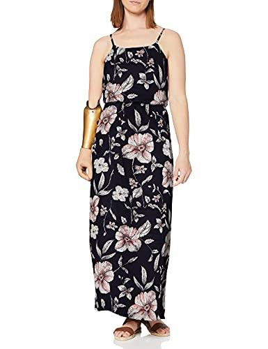 ONLY Damen Onlwinner Sl Maxidress Noos Wvn Casual Dress, Night Sky 2, 36 EU