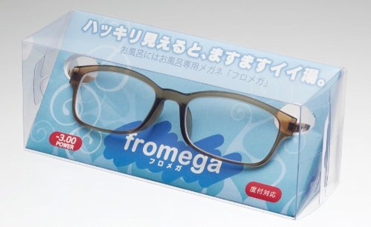 宙返り見えるミンチお風呂用メガネ fromegaフロメガIL-001-8.00