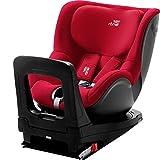 BRITAX RÖMER silla de coche DUALFIX Z-LINE i-SIZE, Giratoria a 360°, niño de 61 a 105 cm (Grupo 0+/1) de 3 meses a 4 años, Fire Red