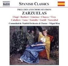 Preludes & Choruses from Zarzuelas / Various