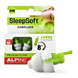 Alpine SleepSoft Sleeping Earplugs - Ultra Soft Filter for Side Sleeper - Reduce Noises & Improve Sleep – Reusable, Hygienic, Hypoallergenic Hearing Protection for Adults with Long Lasting Comfort