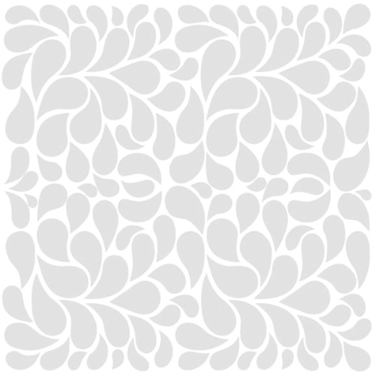 Bazzill Basics Glazed 12x12 Cardstock 15-Pack: Fancy Feathers Bazzill White