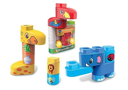 VTech – Bla-Blocks – Mes Animaux Rigolos speelgoed voor constructie, 604605, meerkleurig