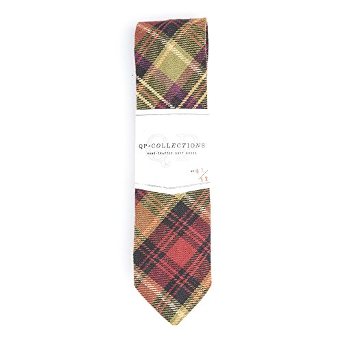 Warm Plaid Necktie