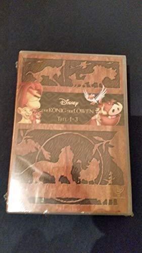Der König der Löwen - Teil 1 - 3 / DVD