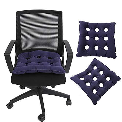 Aufblasbares Sitzkissen, aufblasbares Anti-Dekubitus-Luftkissen Rollstuhl Büroauto-Luftkissensitz(480)