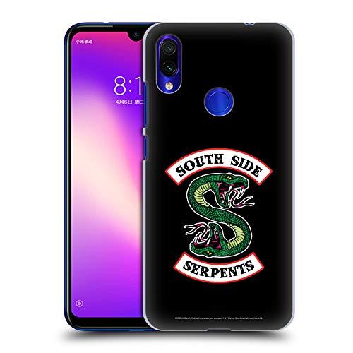 Head Case Designs Oficial Riverdale Serpientes del Lado Sur Arte Gráfico Carcasa rígida Compatible con Xiaomi Redmi Note 7/7 Pro