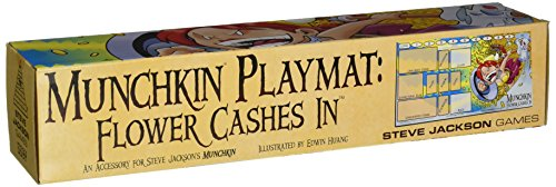 Steve Jackson Games Munchkin Playmat Flower Cash In